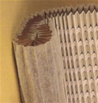 Foto Filtro cartón con manta de